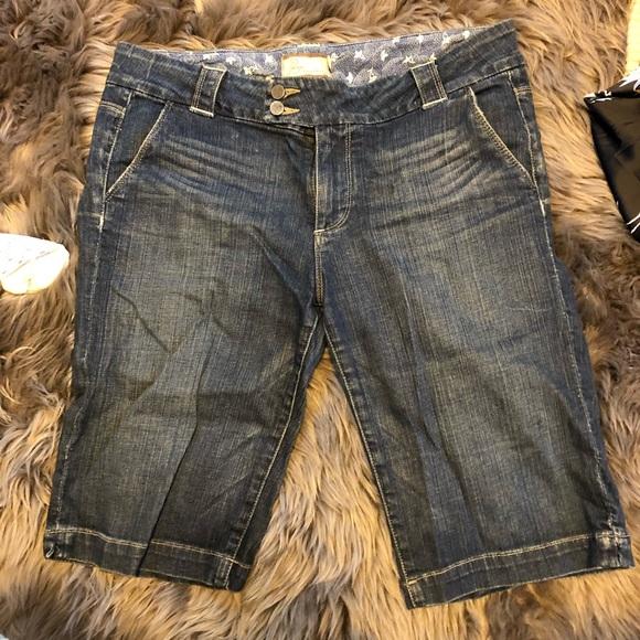 PAIGE Denim - Paige Denim Mid length Shorts
